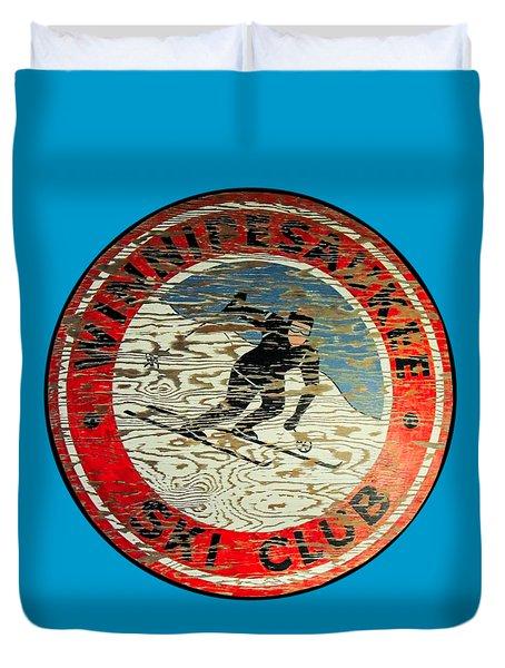 Winnipesaukee Ski Club Duvet Cover