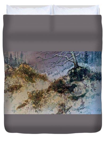 Winter's Morn Duvet Cover by Carolyn Rosenberger