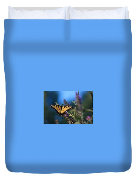 Summer Flight Duvet Cover
