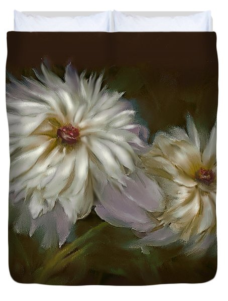 Withering Peony Duvet Cover