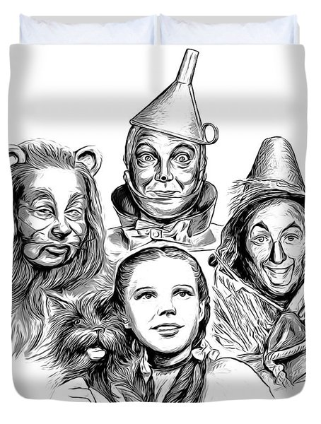 Wizard Of Oz Duvet Cover