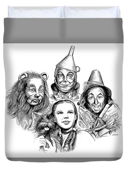 Wizard Of Oz Duvet Cover by Greg Joens