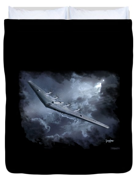 Yb-35 Flying Wing Duvet Cover