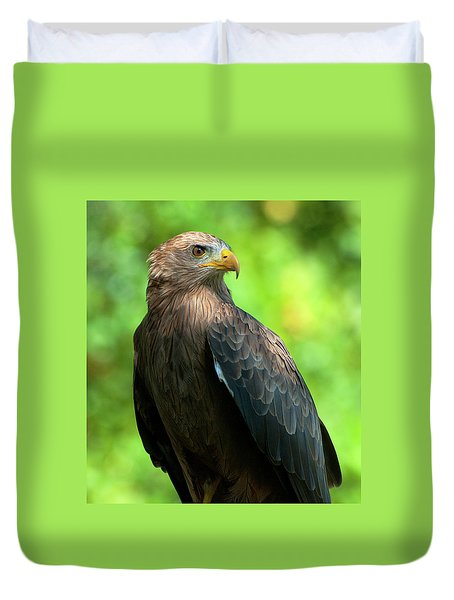 Yellow-billed Kite Duvet Cover