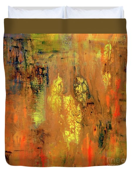 Yellow II Duvet Cover
