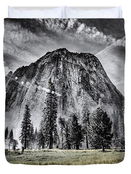 Yosemite Dawn Duvet Cover