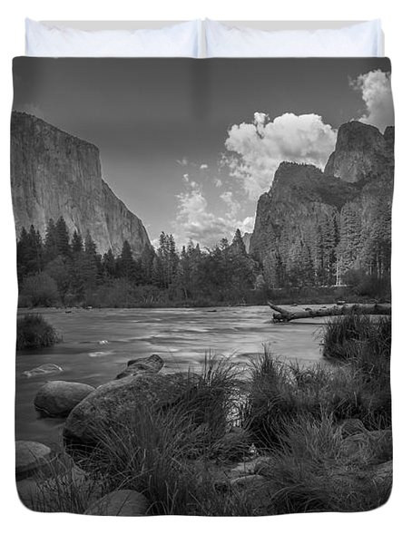 Yosemite Evening Duvet Cover
