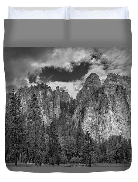 Yosemite Meadows Duvet Cover