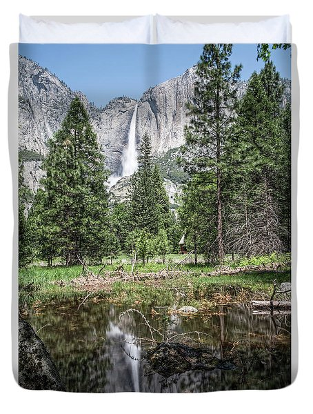 Yosemite View 16 Duvet Cover