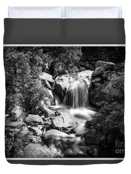 Yosemite Waterfall Duvet Cover