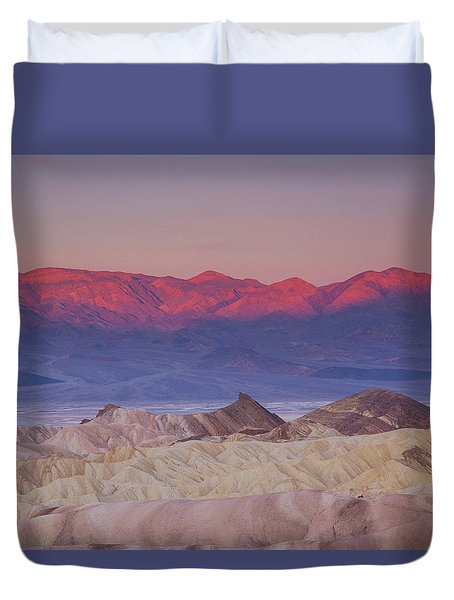 Zabriskie Sunrise Duvet Cover