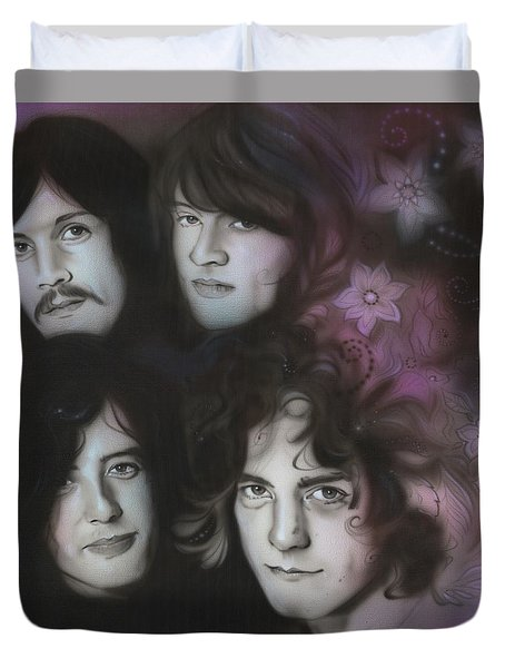 Zeppelin Duvet Cover