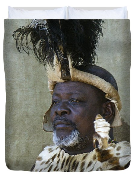 Zulu Dignity Duvet Cover by Michele Burgess