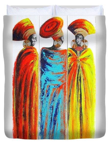 Zulu Ladies 2 Duvet Cover