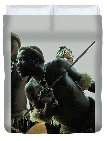 Zulu Warrior Duvet Cover