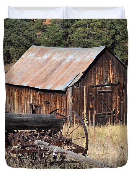 Seed Tiller - Barn Westcliffe Co Duvet Cover