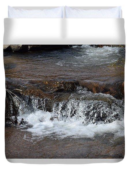 Waterfall Westcliffe Co Duvet Cover