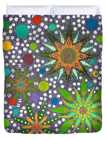 Ayahuasca Vision  Duvet Cover
