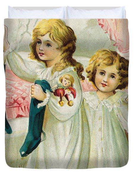 Christmas Card Duvet Cover