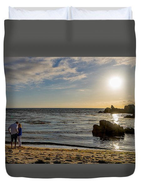 10 Cropped Duvet Cover by Derek Dean