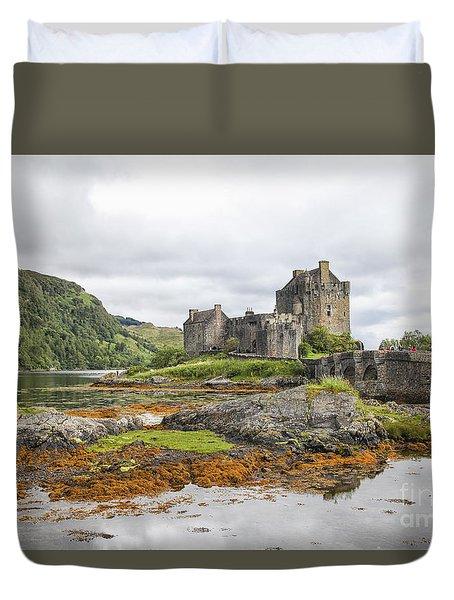 Eilean Donan Castle Duvet Cover by Patricia Hofmeester