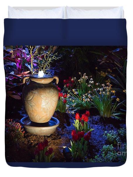 Imaginative Landscape Design Duvet Cover