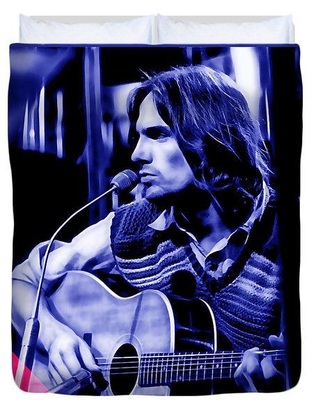 James Taylor Collection Duvet Cover by Marvin Blaine