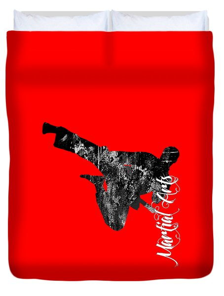 Martial Arts Collection Duvet Cover by Marvin Blaine