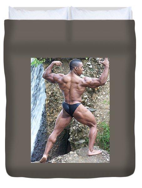 Muscle Art America Duvet Cover