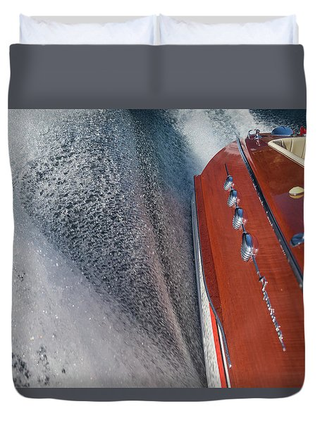 Aquarama Art Duvet Cover