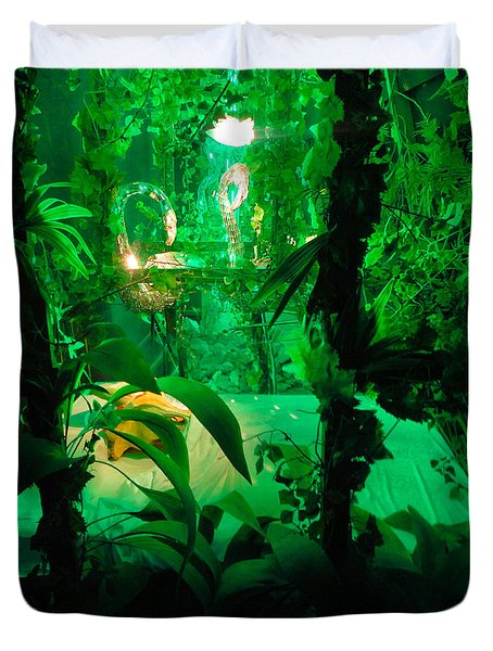 Duvet Cover featuring the photograph Salvador Dali Museum by Gregory Dyer