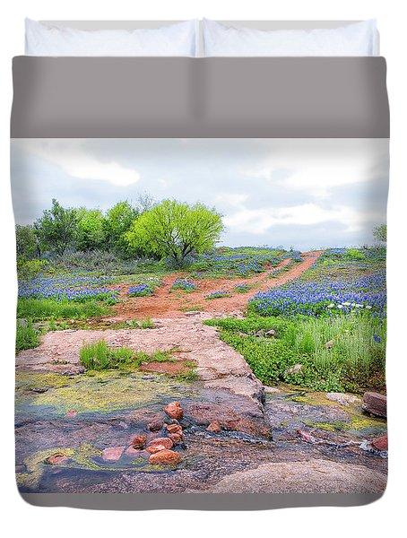 Texas Bluebonnets 9 Duvet Cover