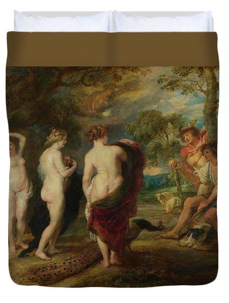 The Judgement Of Paris Duvet Cover