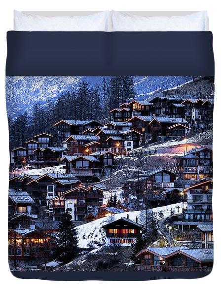 Zermatt - Switzerland Duvet Cover