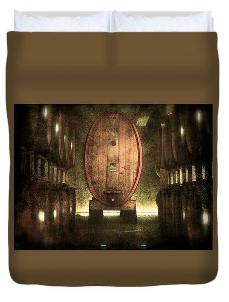 100 Hl - Italian Red Wine Duvet Cover