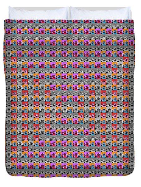 Buddha Pop Art - 2 Duvet Cover