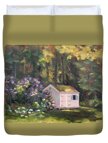 101 Blooms Duvet Cover by Trina Teele