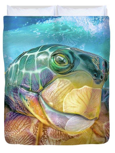 10730 Mr Tortoise Duvet Cover