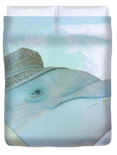 10732 Flipper Duvet Cover
