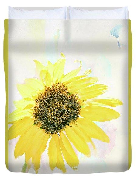 10845 Sunflower Duvet Cover by Pamela Williams