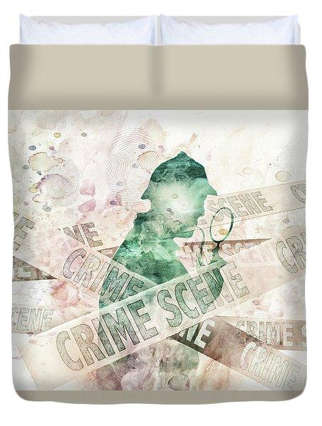 10848 Sherlock Duvet Cover by Pamela Williams