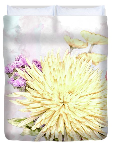 10865 Spring Bouquet Duvet Cover