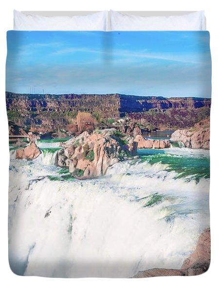 10917 Shoshone Falls Duvet Cover