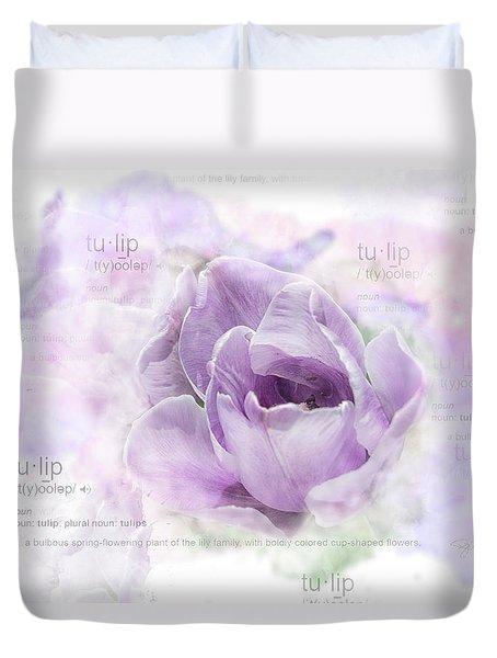 10947 Tulip Duvet Cover
