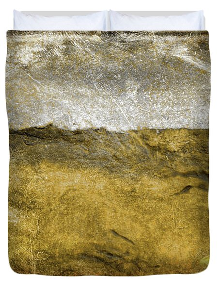 10b Abstract Expressionism Digital Painting Duvet Cover