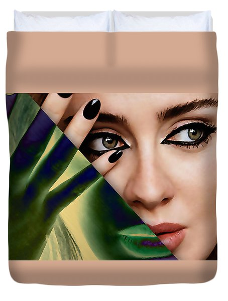 Adele Collection Duvet Cover