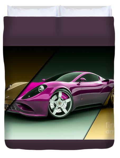 Ferrari Collection Duvet Cover by Marvin Blaine