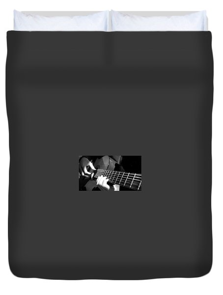 Guitar Duvet Cover