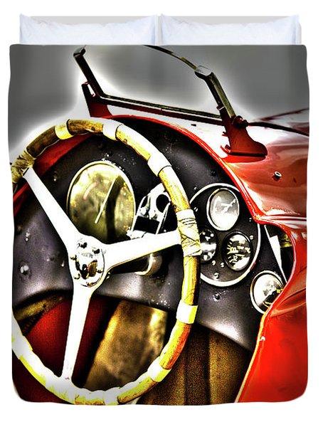 Indy Race Car Museum Duvet Cover