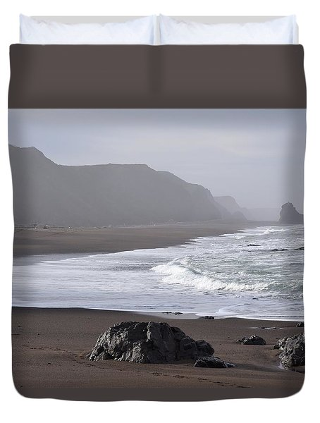 Irish Beach Duvet Cover